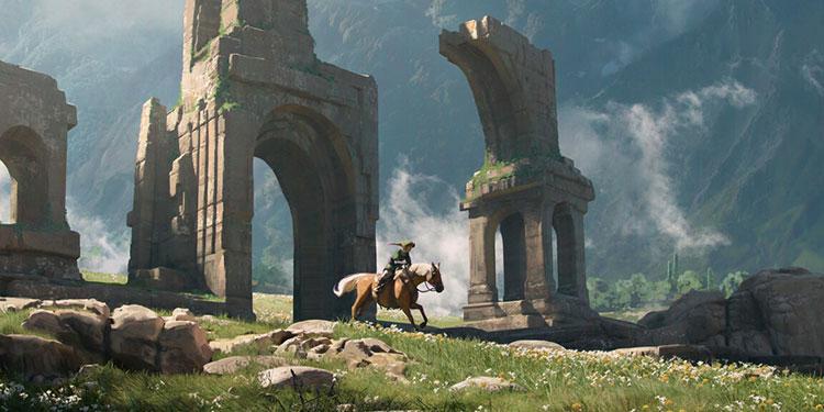 Legend Of Zelda-florent-lebrun-001-hyrule-plains